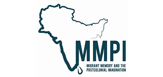 Pictured is the Migrant Memory and the Post-colonial Imagination logo.