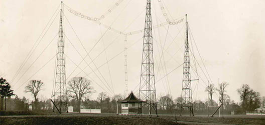 Radio research station c. 1929