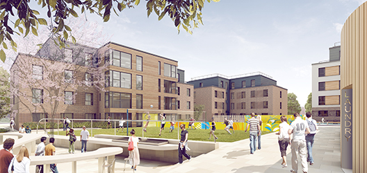 Image of proposed student accommodation