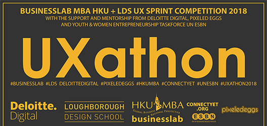 Digital asset to promote Uaxthon event which took place at the Design School