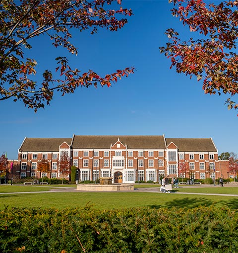 Rutland Building on Loughborough University's campus
