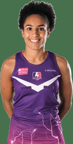 Loughborough Lightning netball player